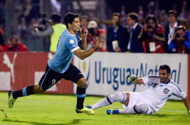 Луис Суарес не сыграет в Чили из-за дисквалификации