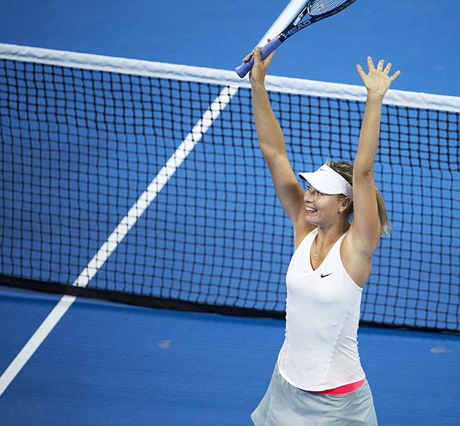 Шарапова – лучшая теннисистка сентября