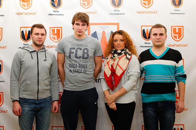 Александр Рожков, Павел Бучневич, Алёна Шилова и Павел Панышев