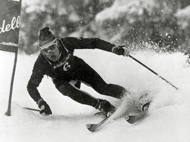 Жан-Клод Килли на горнолыжной трассе
