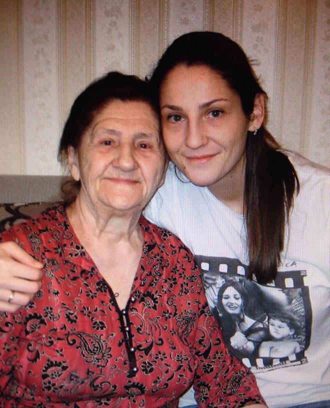 Татьяна Кошелева с бабушкой
