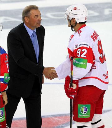 Владислав Третьяк и Бранко Радивоевич