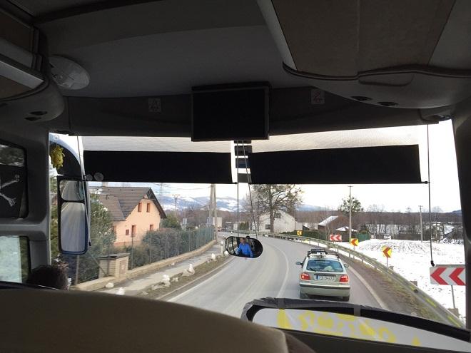 Дорога из Остравы в Тршинец