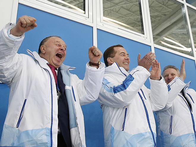 Появление Дмитрия Медведева принесло сборной России удачу