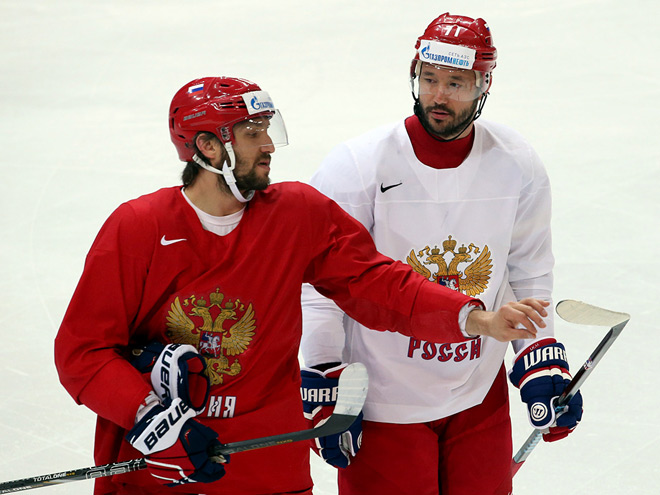 Александр Овечкин и Илья Ковальчук
