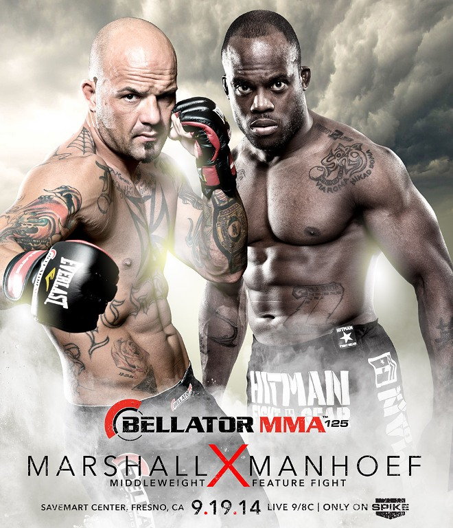 Постер к турниру Bellator 125