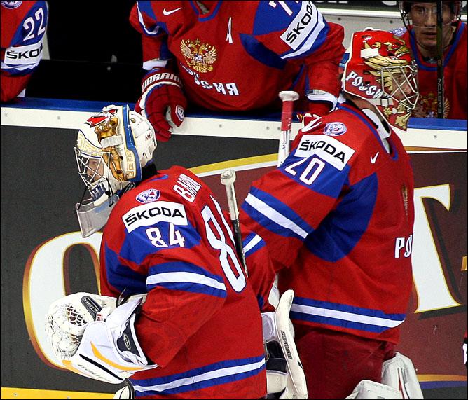 5 мая 2011 года. Братислава. Чемпионат мира. Россия — Дания — 4:3