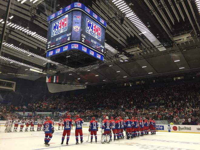 Сорокин — лучший в составе сборной России