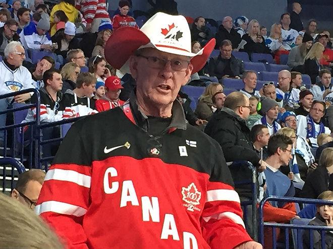 Болельщик сборной Канады