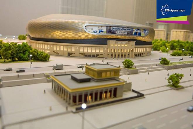 Несколько дней назад компания «ВТБ Арена Парк» опубликовала фотографии нового макета проекта