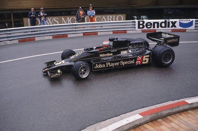 Марио Андретти в сезоне-1977 Формулы-1