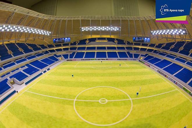 Первая игра на новом «Динамо» запланирована на 22 октября 2017 года