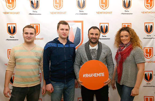 Шуми Бабаев и журналисты «Чемпионата»