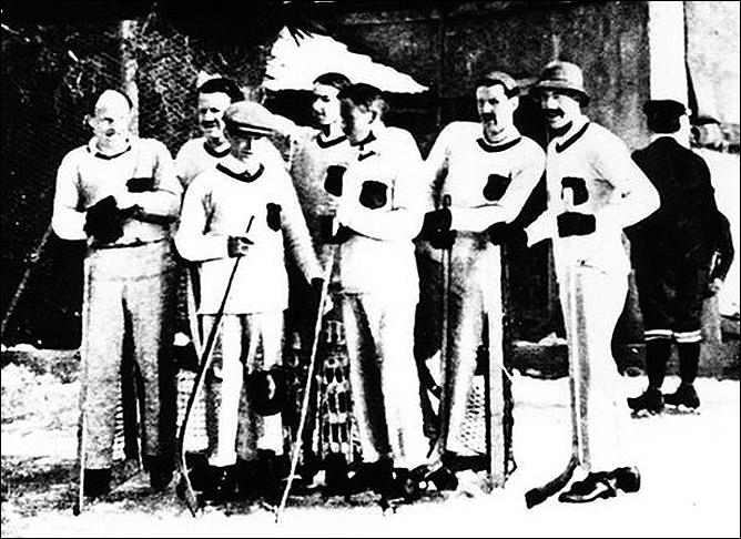 Сборная Богемии по хоккею. 1910 год