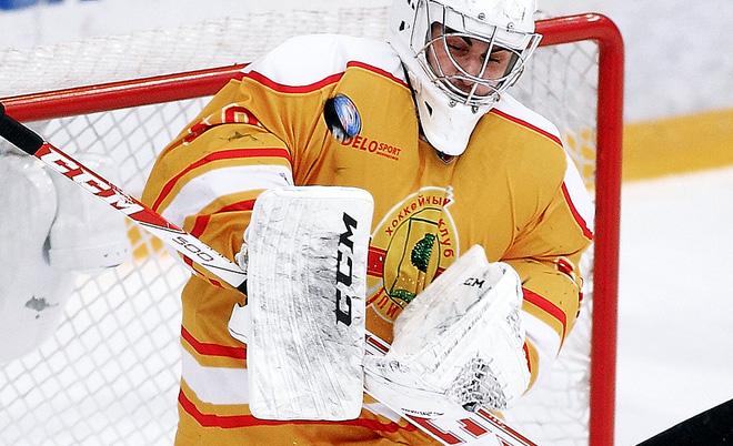 Лучший вратарь недели ВХЛ Андрей Литвинов (ХК «Липецк»)