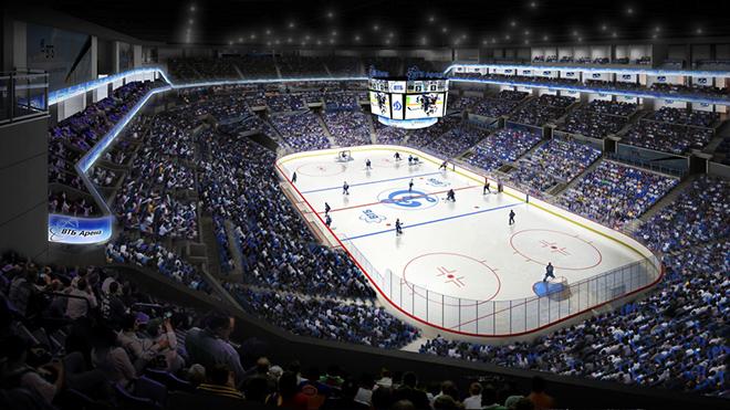 Комплекс «ВТБ Арена Парк» будет включать футбольный стадион и малую спортивную арену для проведения хоккейных и баскетбольных матчей