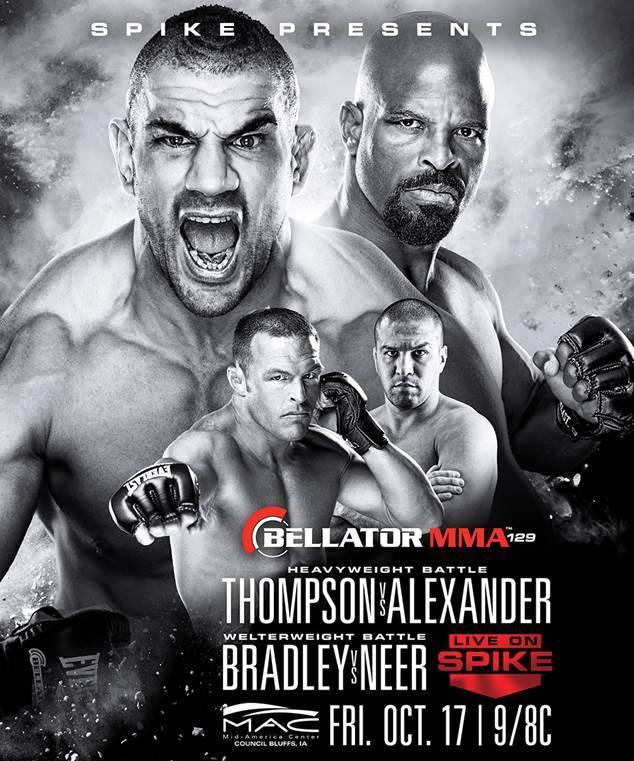 Постер к турниру Bellator 129