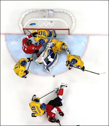 Хоккей финал швеция канада 0 3
