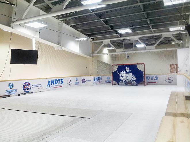 Жемчужиной «Арены Сити» является не ледовая коробка и даже не баня, а редкий для России хоккейный центр