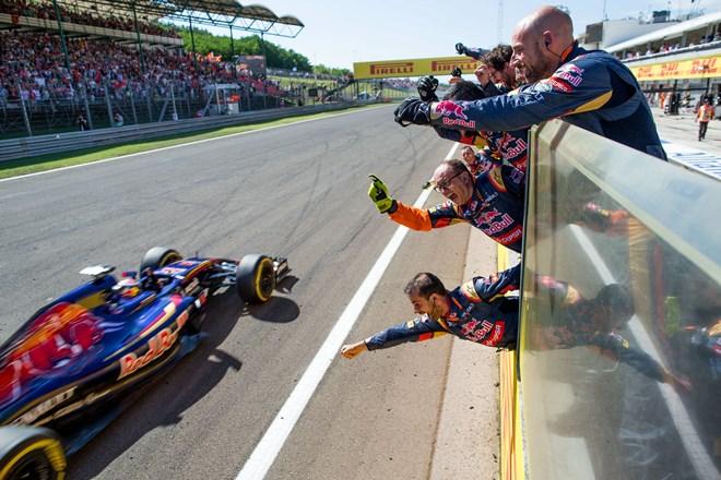 На Гран-при Венгрии Ферстаппен впервые в карьере финишировал 4-м