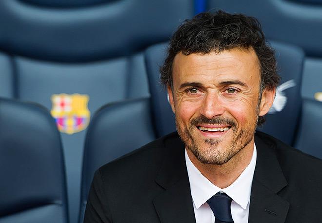 Луис Энрике — главный тренер «Барселоны»