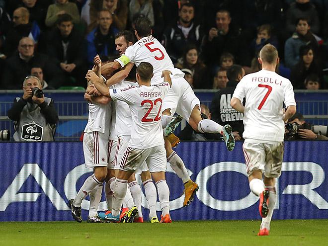 Сборная Албании обыграла португальскую команду