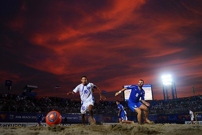 Играют Италия и Сальвадор