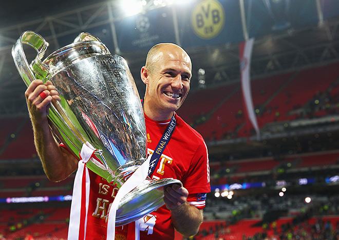 31-й день рождения Арьен Роббен встретит в качестве футболиста «Баварии»