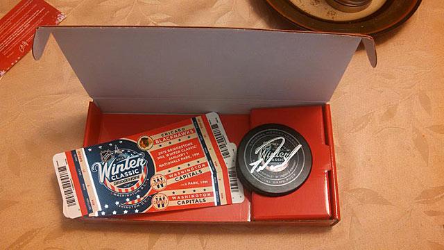 Подарок-мечта для хоккейного болельщика