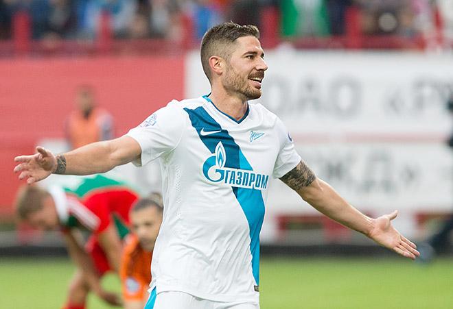 Хави Гарсия уже открыл счёт забитым мячам за «Зенит»