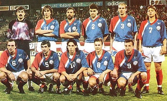 Сборная России в 1993 году
