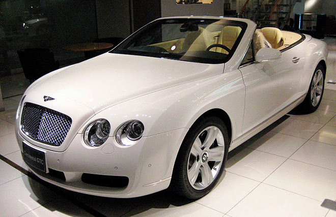 Bentley Continental GTC, �� ������� ��������� ������ �����