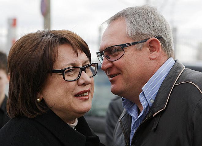 Ольга Смородская и Юрий Красножан