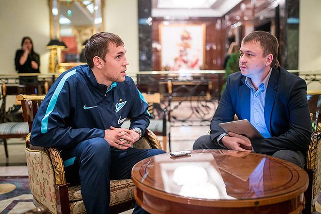 Артём Дзюба и Олег Лысенко