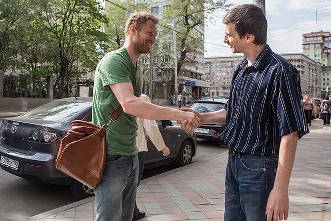 Дмитрий Турсунов и Даниил Сальников