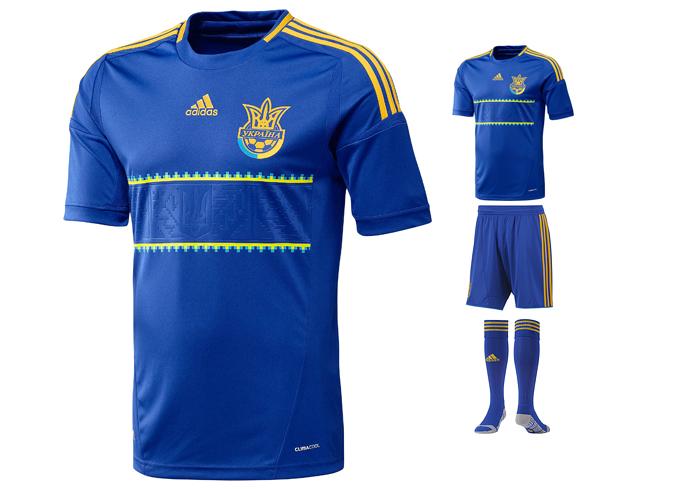 Форма сборной Украины Adidas