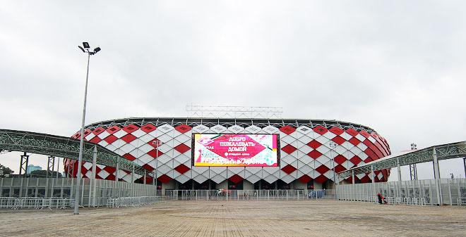Репортаж с нового стадиона «Спартака»