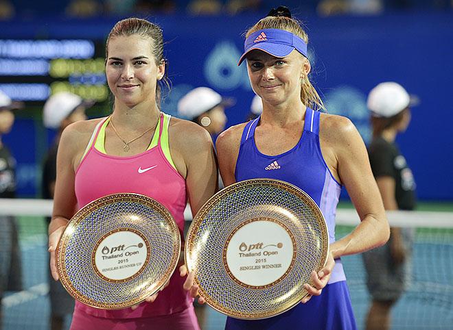 Гантухова победила в Паттайе
