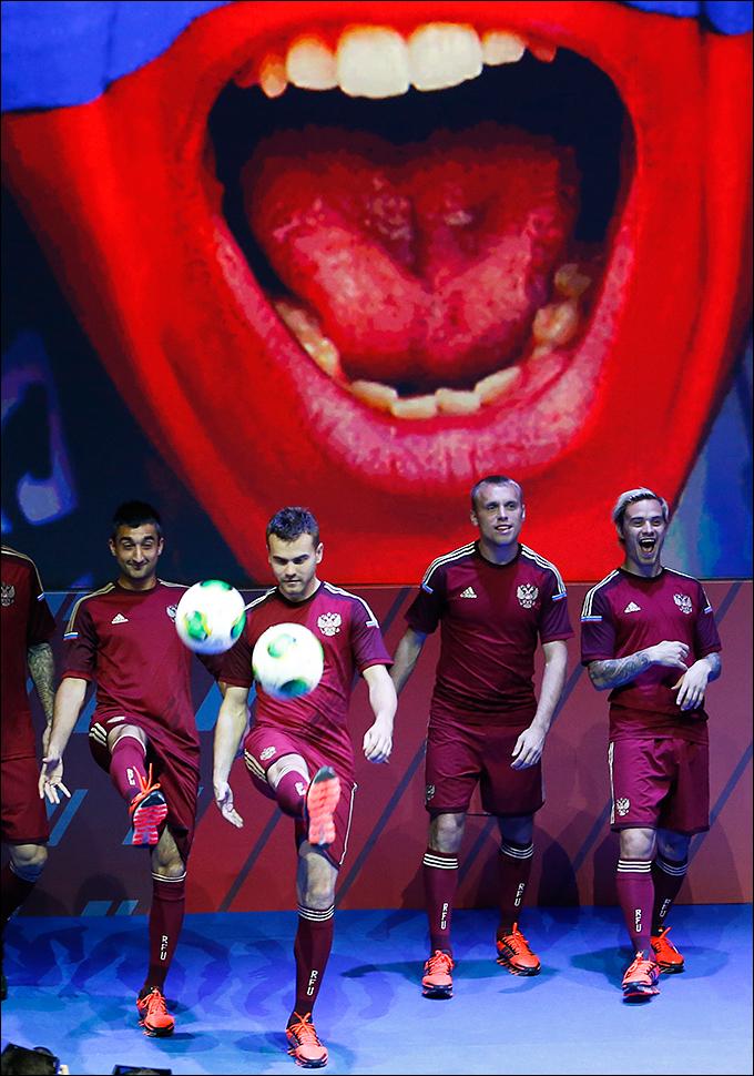 В новой форме сборная России сыграет на чемпионате мира в Бразилии
