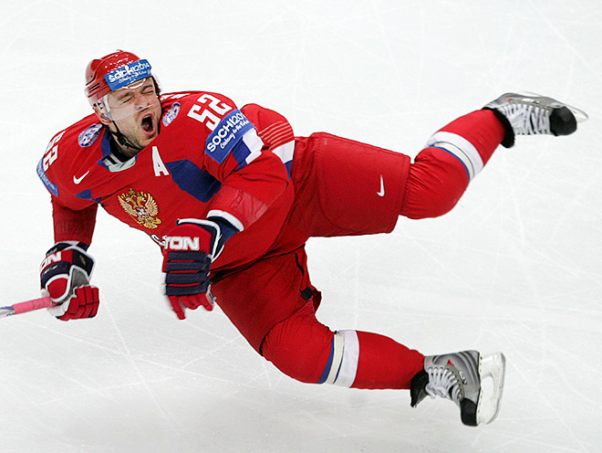 Андрей Марков в составе сборной России