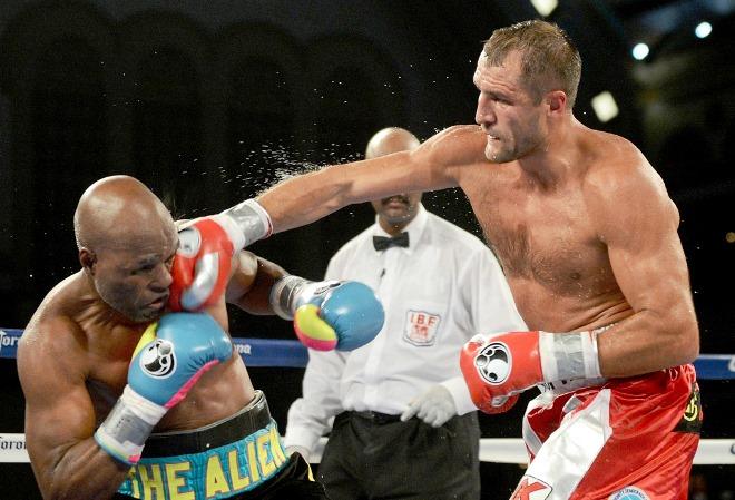 Среди битых Ковалёвым соперников числится легенда мирового профи-бокса неувядающий Бернард Хопкинс