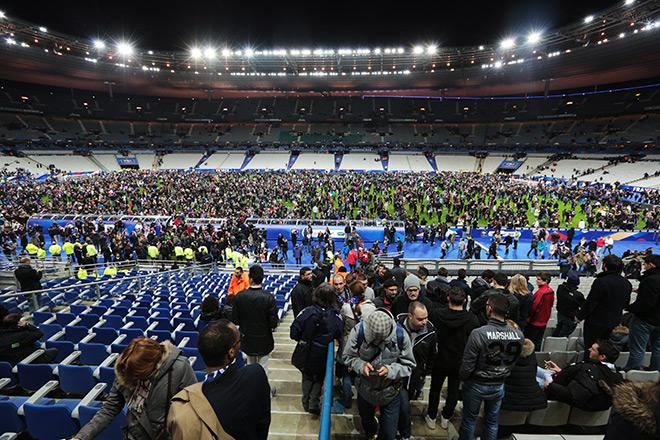 Теракт на стадионе «Стад де Франс»
