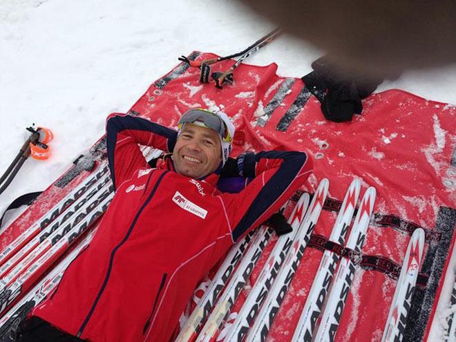 Бьорндален отдыхает вместо эстафеты