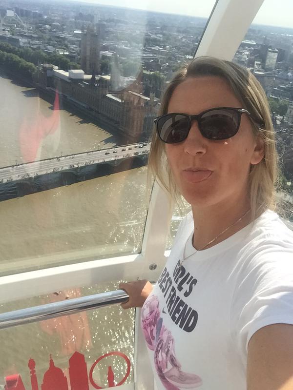 Виктория Азаренко посетила London Eye.