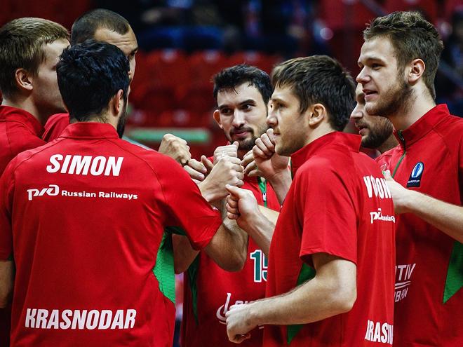 «Локомотив-Кубань» выиграл каждый из 10 матчей основного раунда Еврокубка