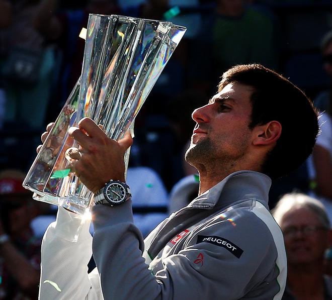 Новак Джокович — чемпион Индиан-Уэллса-2014