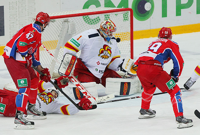 ЦСКА — «Йокерит»