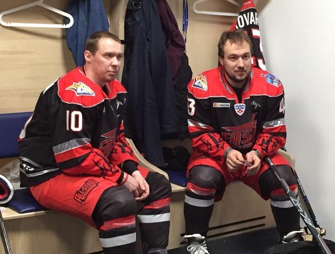 Сергей Мозякин и Ян Коварж