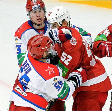 24 сентября 2013 года. Подольск. Регулярный чемпионат КХЛ.