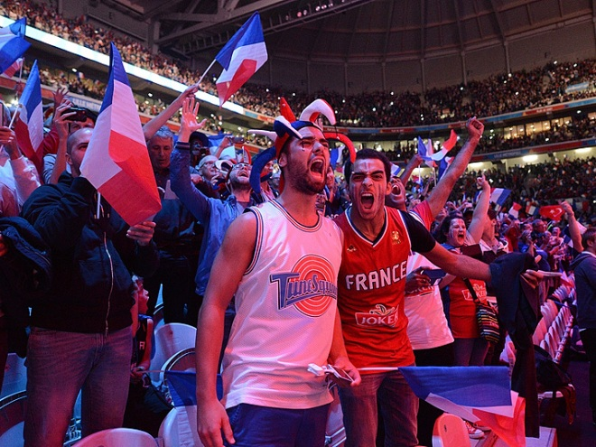 Матч Франция — Турция установил новый рекорд посещаемости Евробаскетов